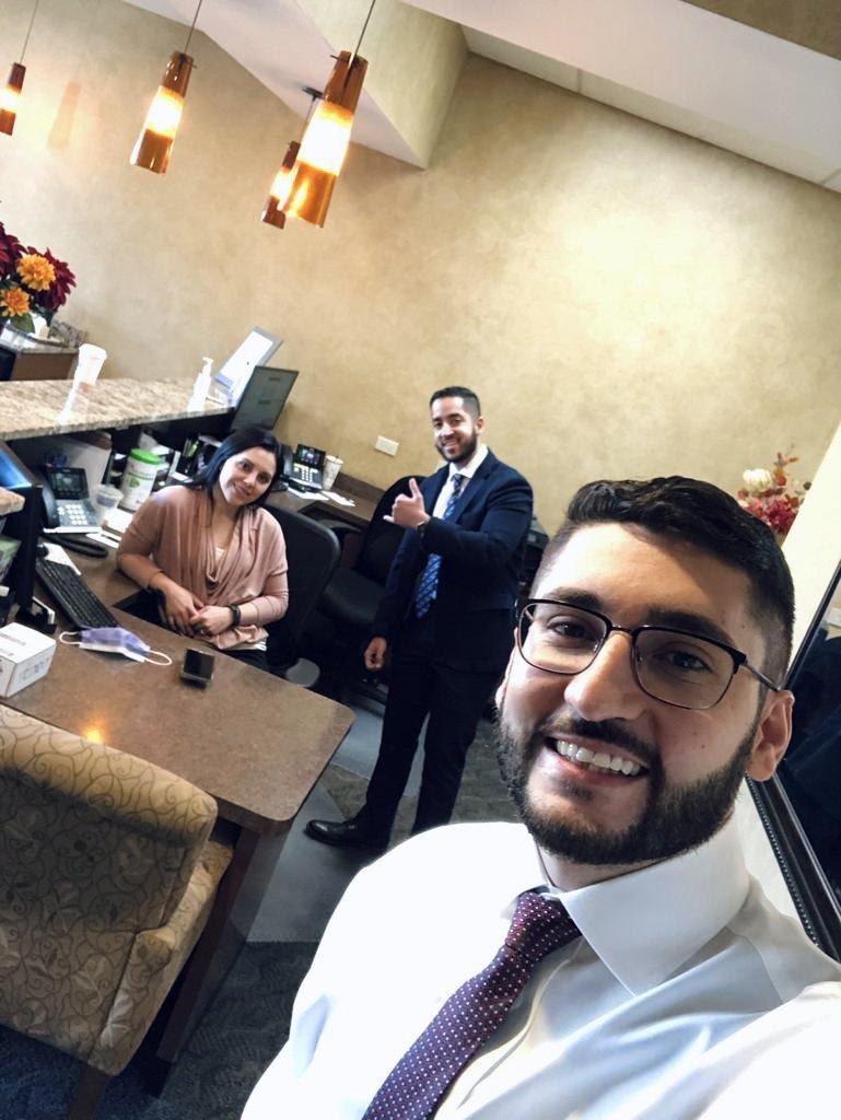 Dr.Ali_s group selfie