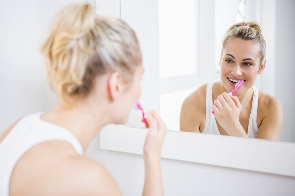 how does professional teeth whitening work