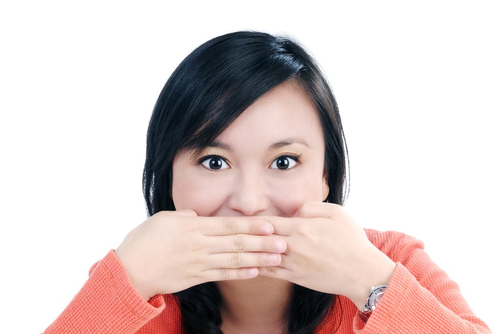 Prevent gag reflex