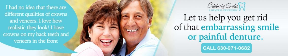 Get rid of that embarrassing smile or painful denture